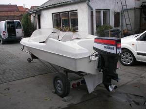 Adria 420 hajó + Yamaha motor